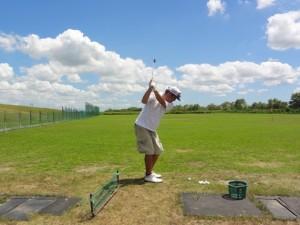 ゴルフ 初心者 練習法 自宅 スイング タオル