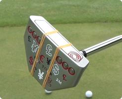 ゴルフ パター 練習 自宅 マット