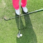 ゴルフレッスン!グリーン周りのアプローチは、アドレスで決まる!!