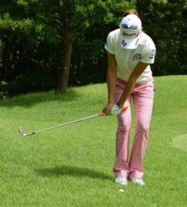 ゴルフ アプローチ アドレス