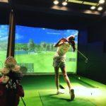 ゴルフ!マンツーマンの屋内ゴルフスクール・・徹底調査です!!