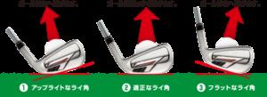 ゴルフ アイアン ヘッド 置き方