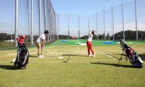ゴルフ 練習 雨