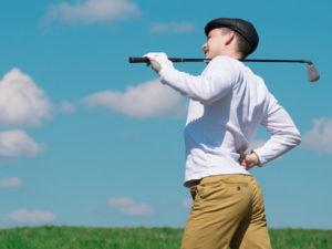 ゴルフ練習 筋肉痛