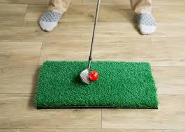 ゴルフ練習 室内 マット