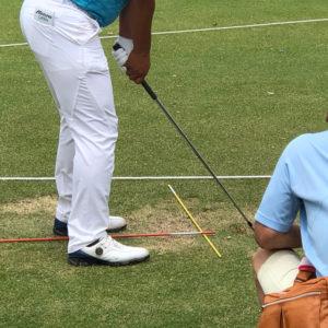 ゴルフ練習 スティック