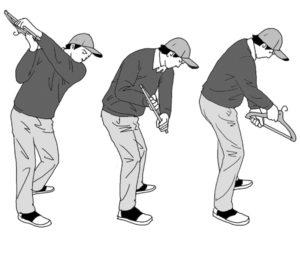 ゴルフ練習 ハンガー