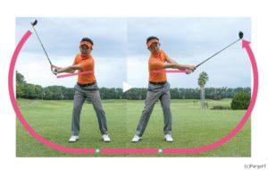 ゴルフ練習 ハーフスイング