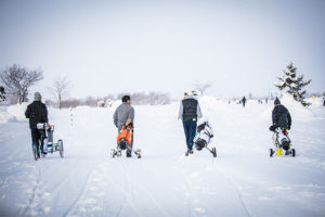 ゴルフ練習 冬