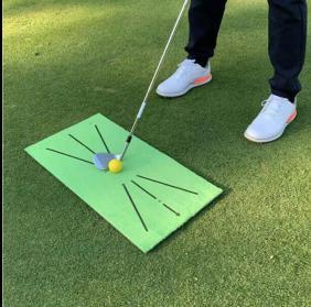 ゴルフ練習 マット ダフリ