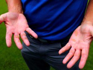 ゴルフ練習 マメ