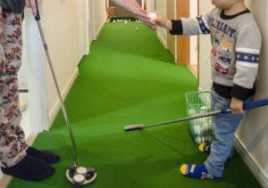 ゴルフ練習 マンション