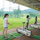 ゴルフ!打ちっぱなし練習場での格好とか、服装はこんな感じです!(女性画像編)。